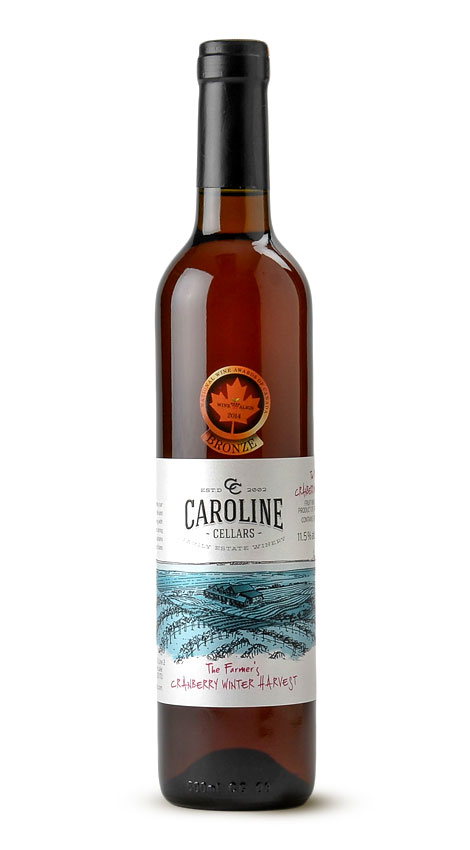 Caroline Cellars Wine Farmers Cranberry Winter Harvest