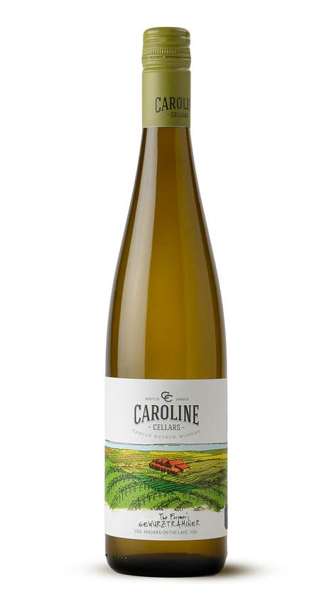 Caroline Cellars Wine 2013 Farmer's Gewurztraminer VQA