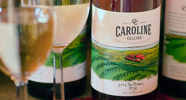 Caroline Cellars Rose