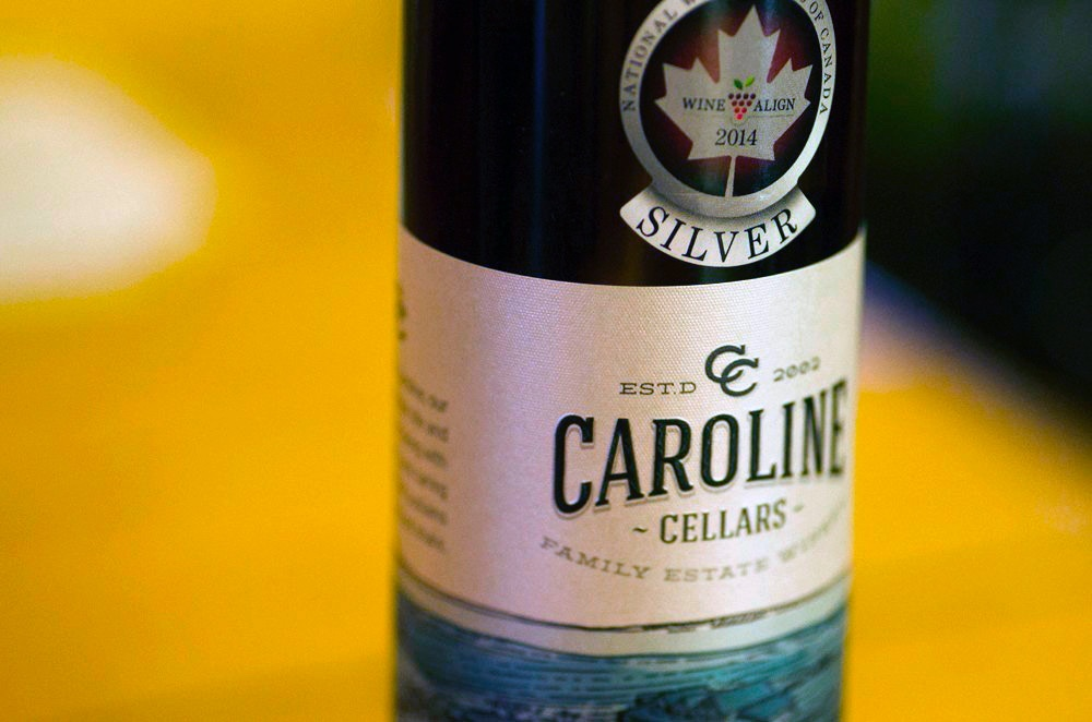 Caroline Cellars vidal ice award